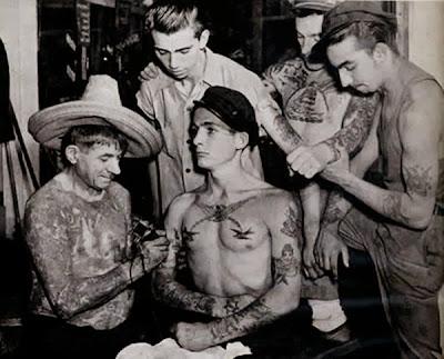 tattoo antiga marinheiros