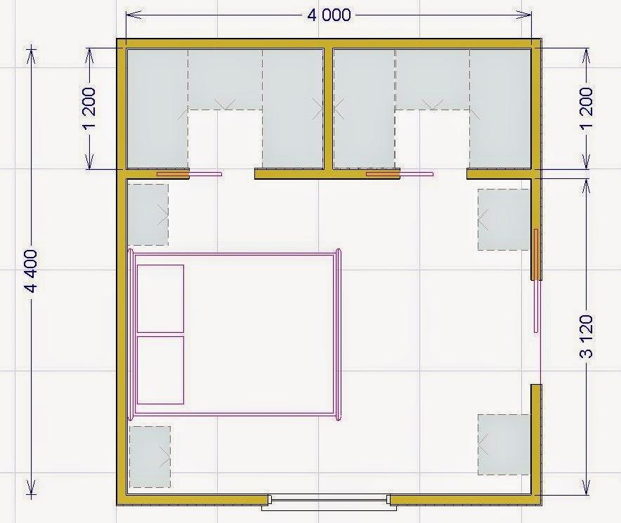 La cabina armadio soluzioni tipologie e costi - Cabina armadio dimensioni minime ...