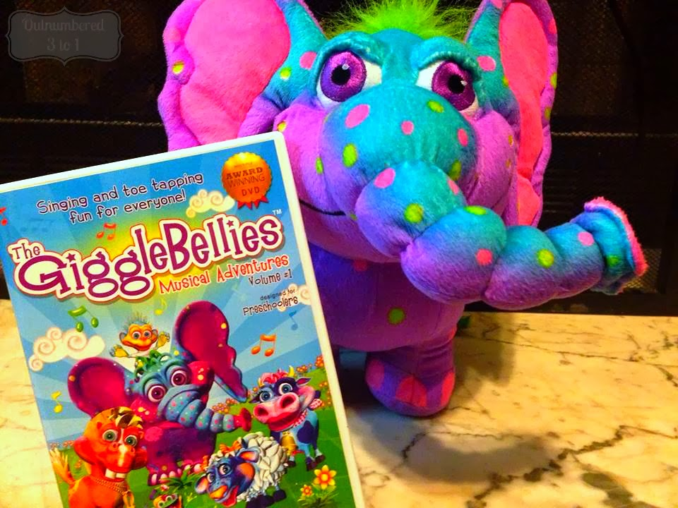 The GiggleBellies DVD