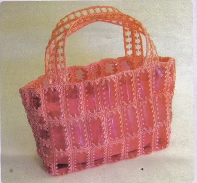 Мастер класс сумок из пластиковых бутылок