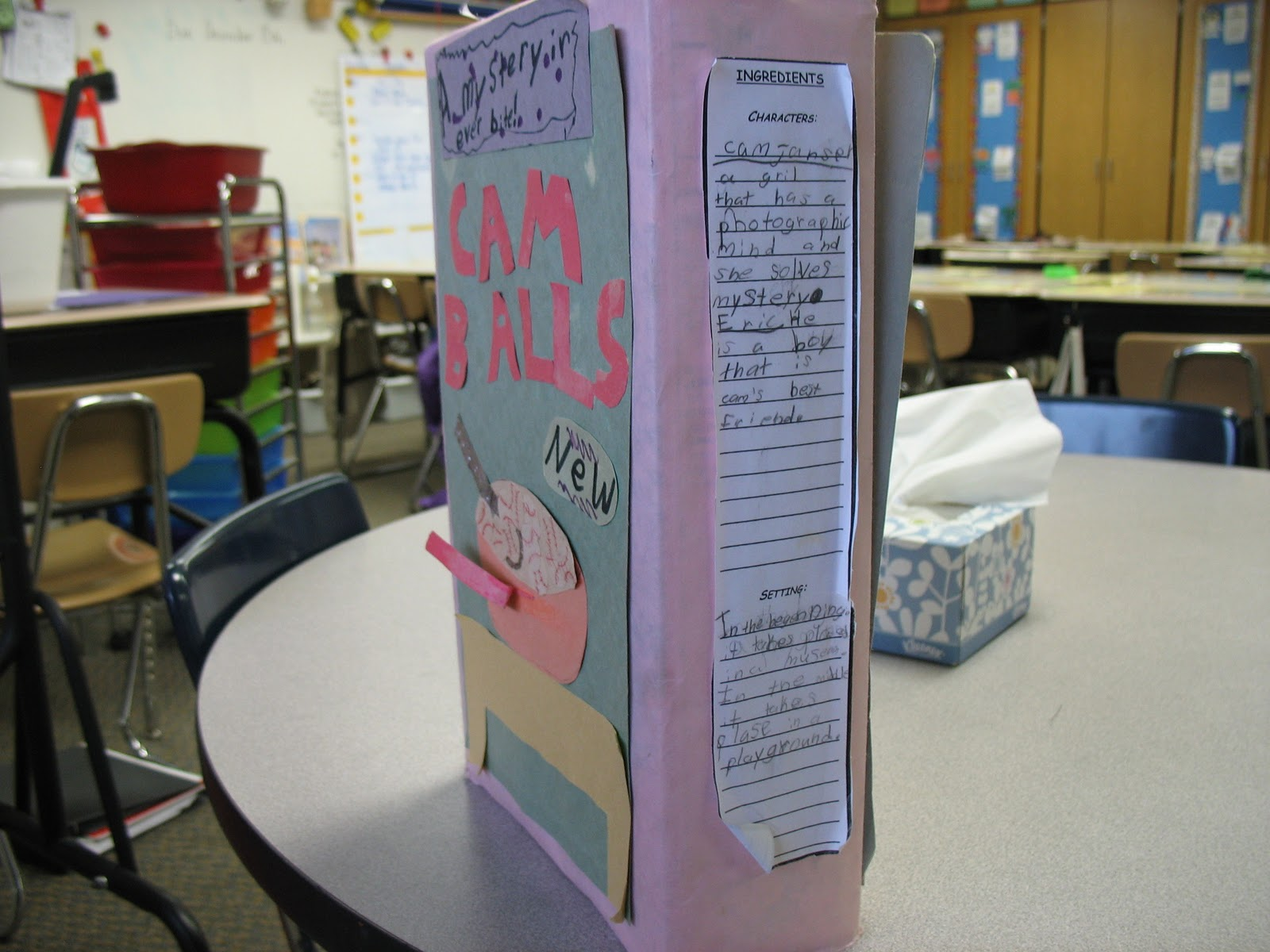 Mrs Halls Classroom Blog Book Reports – Sample Cereal Box Book Report Template