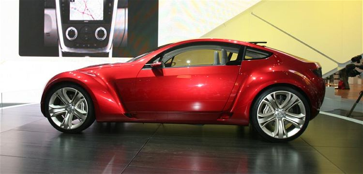 Luxury Car Mazda Kabura Concept 2006