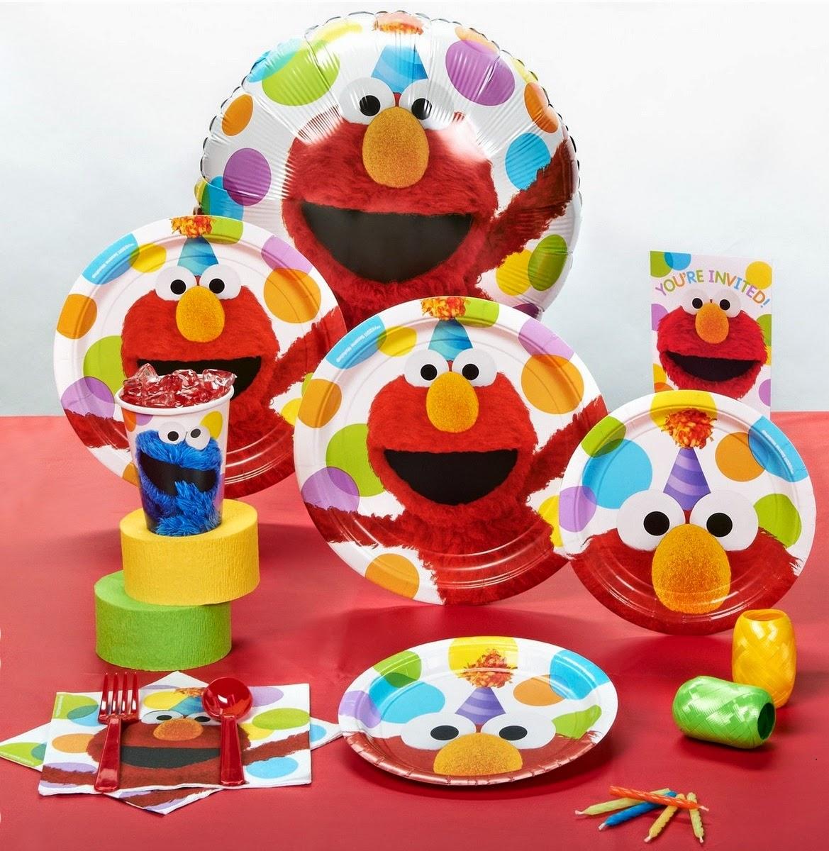 Sesame Street Elmo Party Standard Pack  sc 1 st  PartyBell.com & Elmo Themed Birthday Party Idea