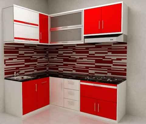 Contoh kitchen set mungil minimalis blog interior rumah for Kitchen set mungil