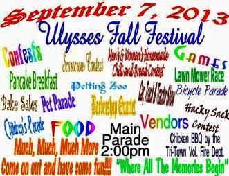 9-7 Ulysses Fall Festival