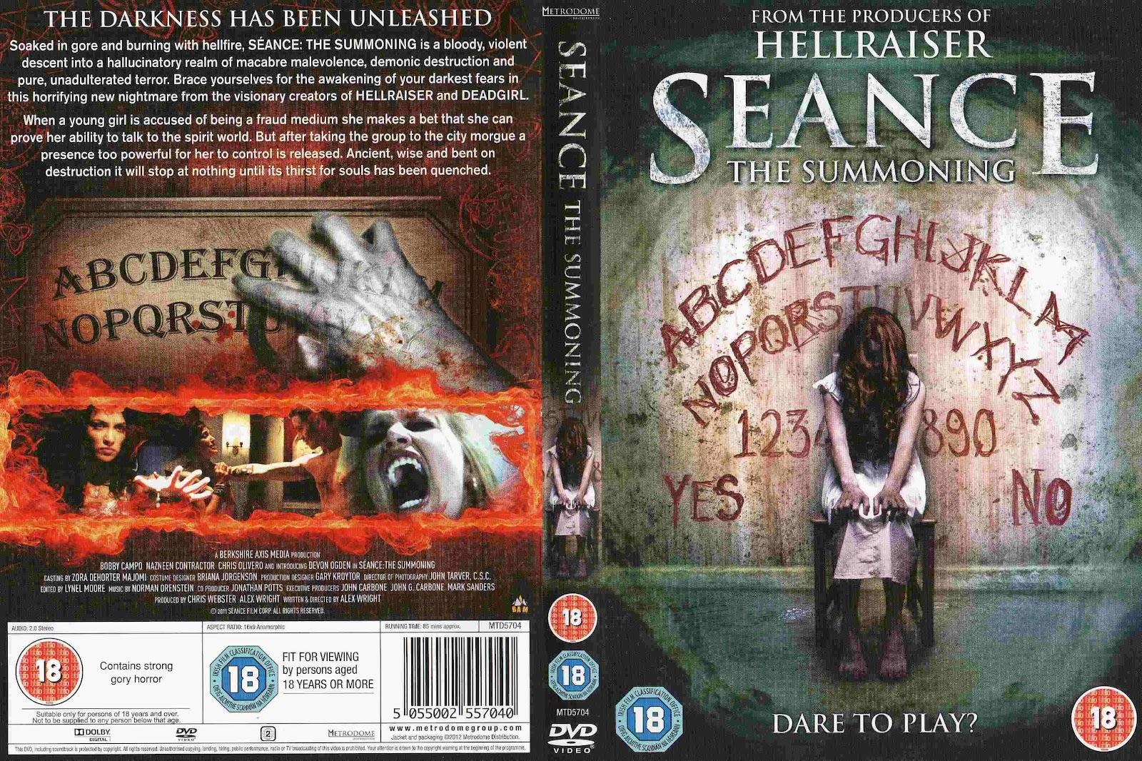 NEW! Horror Hunks: Bobby Campo In Seance: The Summoning(2011) cara+sen