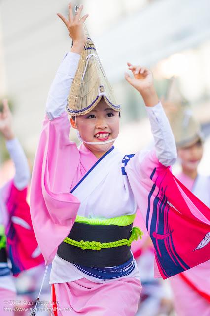 高円寺阿波おどり 天翔連 女踊り