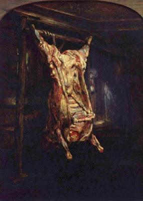 Buey desollado de Rembrandt
