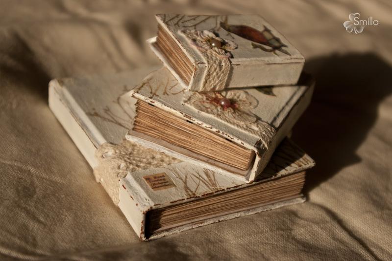 Как сделать винтажную книгу