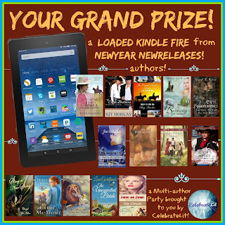 New Release Christian Fiction Books Giveaway with Grand Prize Giveaway Kindle Fire