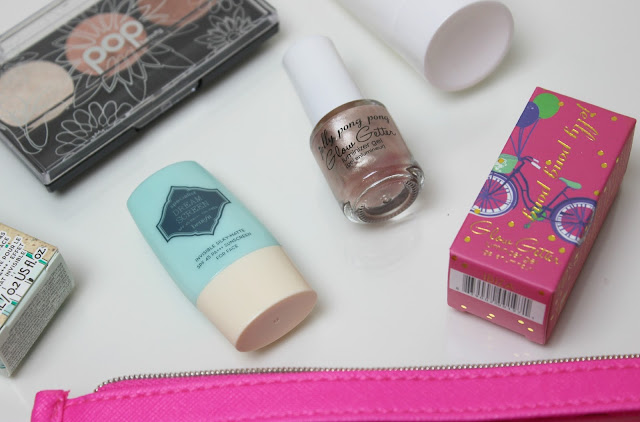 A picture of Benefit Cosmetics Dream Screen and Jelly Pong Pong Glow Getter Luminizer Gel