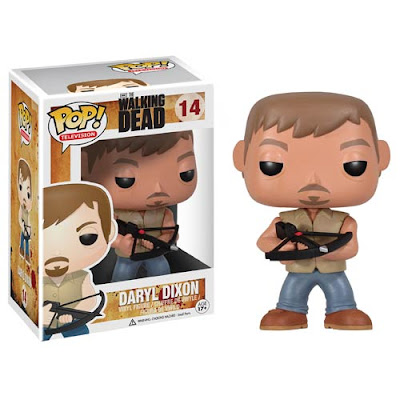"The Walking Dead Daryl Dixon 9"" Pop! Television Vinyl Figure by Funko"