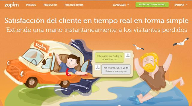 Instalar un chat de atención al cliente online en Blogger