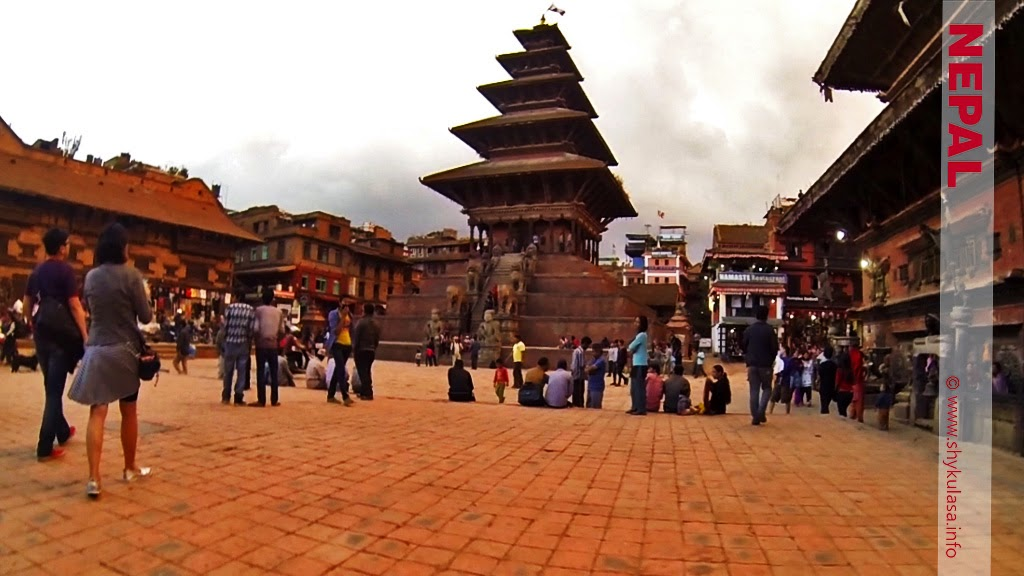 Nyatapola Temple at Taumadhi Square