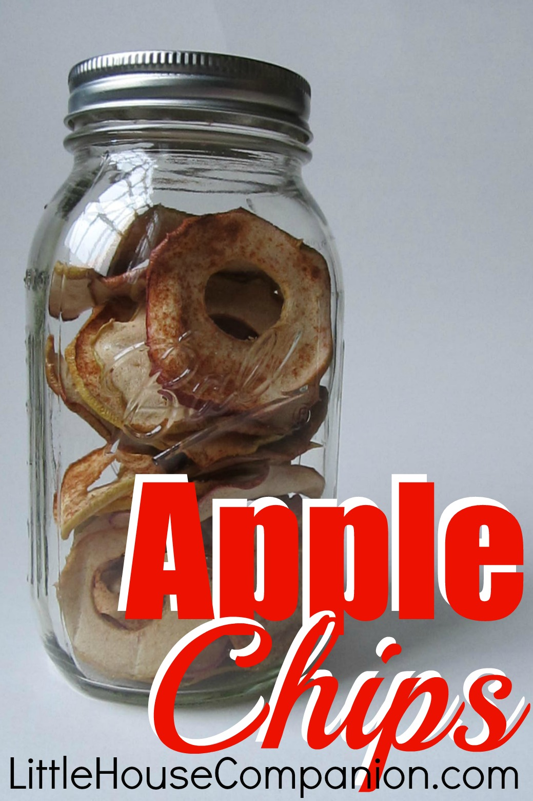 How to make dried apples/apple chips. #recipe #apples