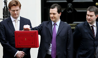 The new leather of the £4,000 replica budget briefcase stank as much as its contents