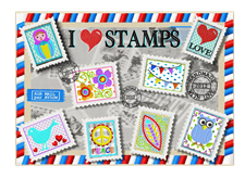 I love STAMPS