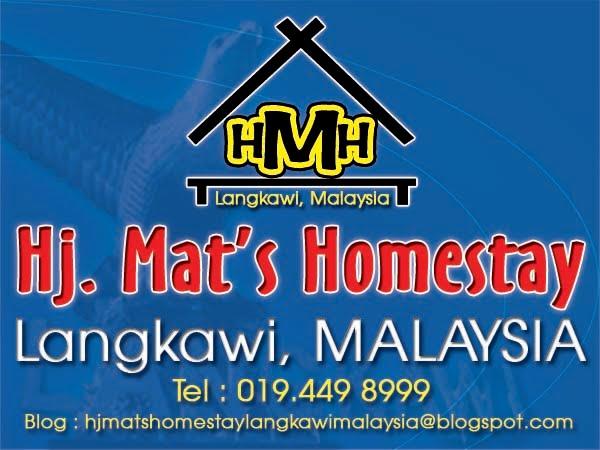 Hj Mat's Homestay Langkawi,Malaysia.