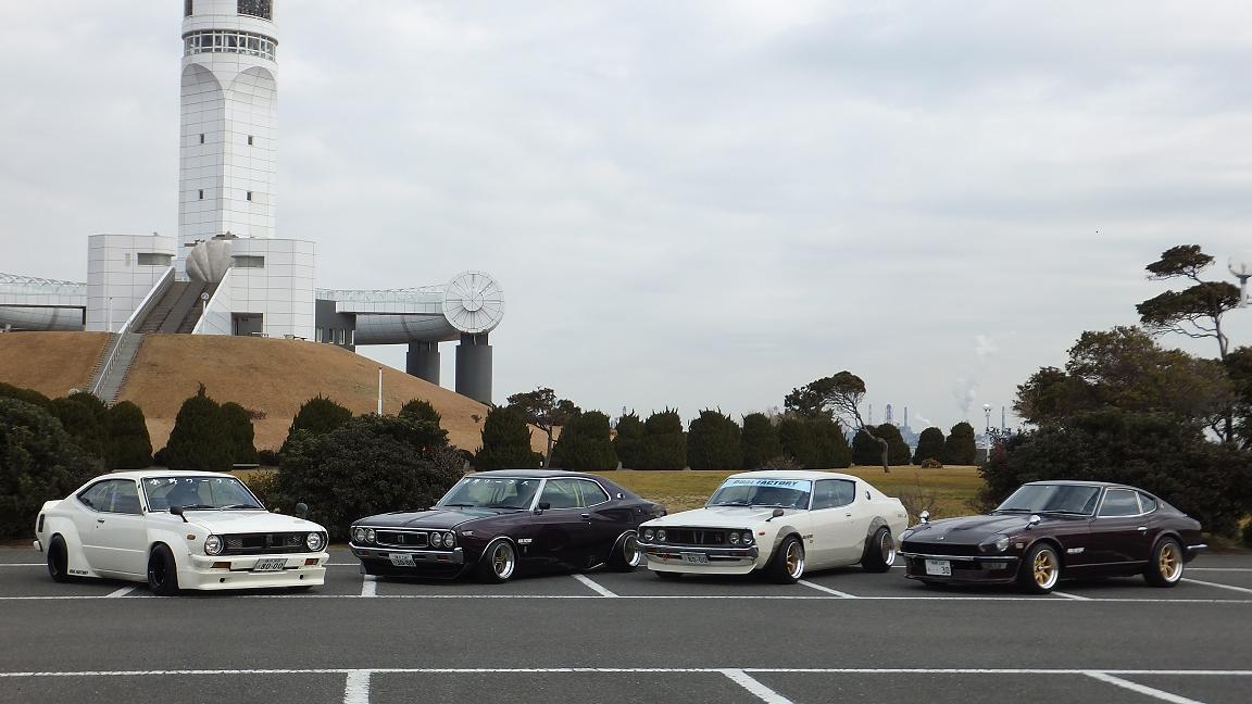 Nissan Skyline, Nissan Fairlady Z  stary japoński samochód, klasyk, oldschool, 日本車, クラシックカー