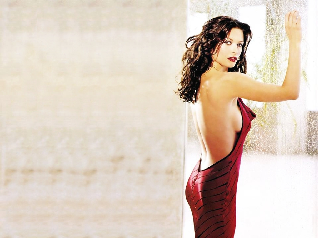 Catherine Zeta Jones Red Dress