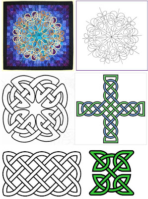Celtic Knot Patterns - Original Contemporary Art :: Karen's Whimsy