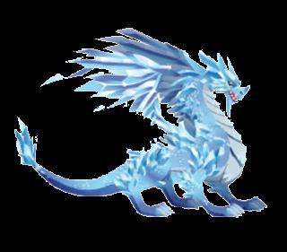 imagen del dragon glacial adulto
