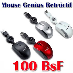 Mouse Genius Retráctil
