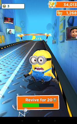 Despicable Me Revive option is quite costly