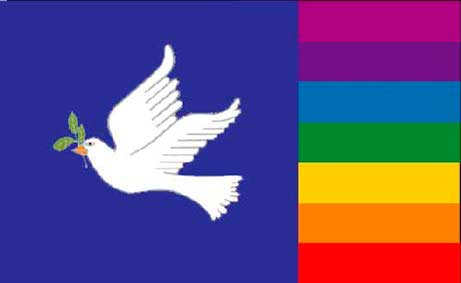 PAGE 3 / PEACE: Anti-War PEACE Dove Ideas (Flags/Weapons/Portraits)