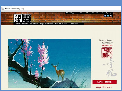 Walt Disney Website
