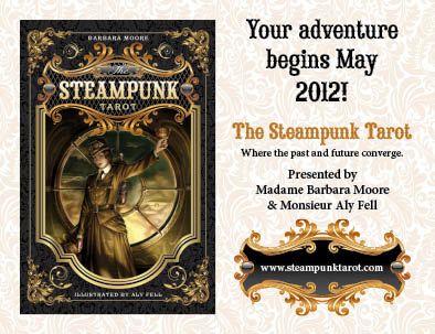 Steampunk Tarot Barbara Moore Llewellyn Aly Fell สตีมพังค์ทาโรต์ ไพ่ทาโร่ ไพ่ทาโรต์ ไพ่ยิปซี final fantasy ยุคกลาง เครื่องจักรไอน้ำ
