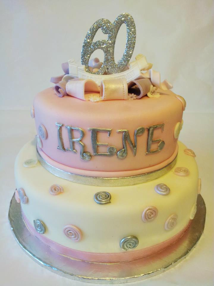 Cake Designs For Birthday Woman : 60th Birthday Cake Ideas - Crafty Morning