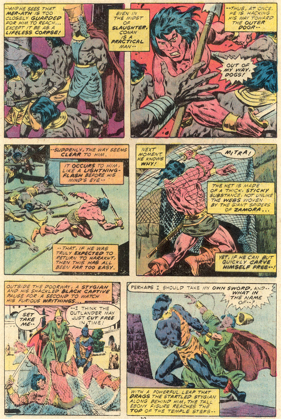 Conan the Barbarian (1970) Issue #84 #96 - English 7