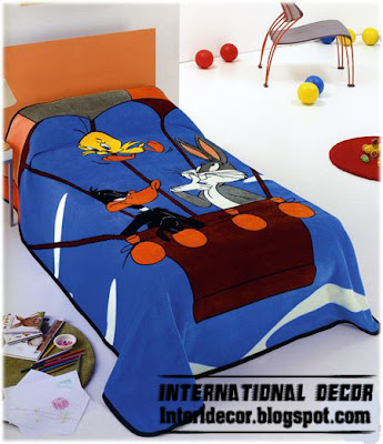 tweety and looney tubes bedspreads blankets for kids room Tweety, looney tunes Bedspreads, blankets for kids room