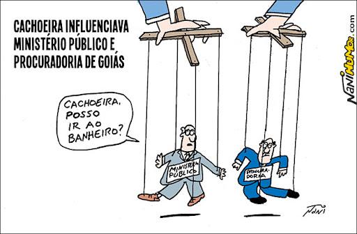 Cachoeira influenciava Ministério Público e Procuradoria de Goiás