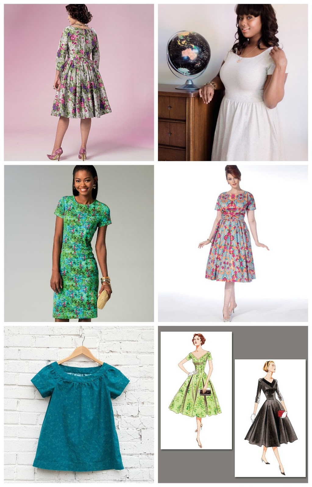 The Feisty Redhead: 6 Patterns to Sew in 2016