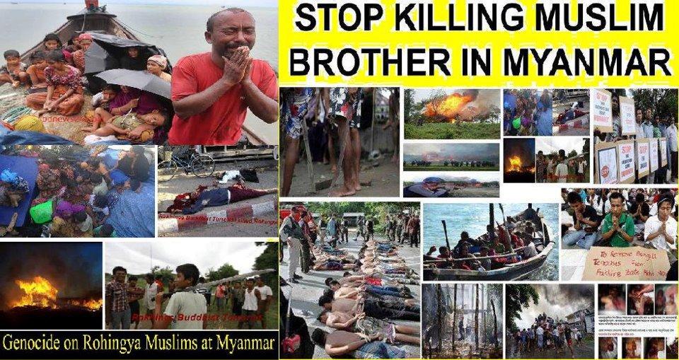pembantaian muslim myanmar