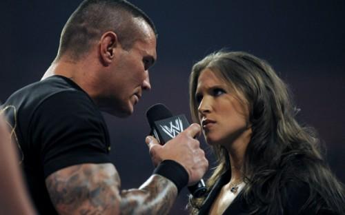 Randy Orton And Stephanie Mcmahon Stephanie Mcmahon Wall...