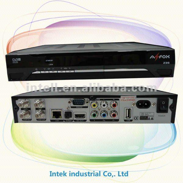 """Atualização """"Firmware"""" Azfox S3 dual tunner"""