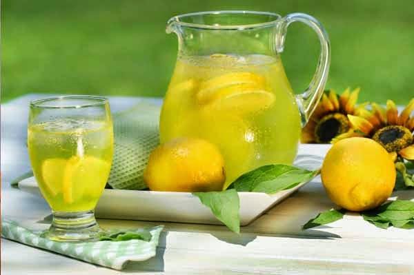 شراب الليمون الديتوكس