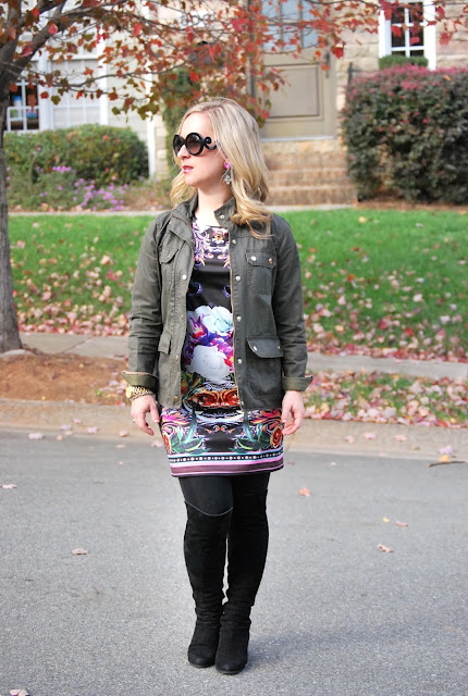 SheInside Dress, graphic dress, how to style