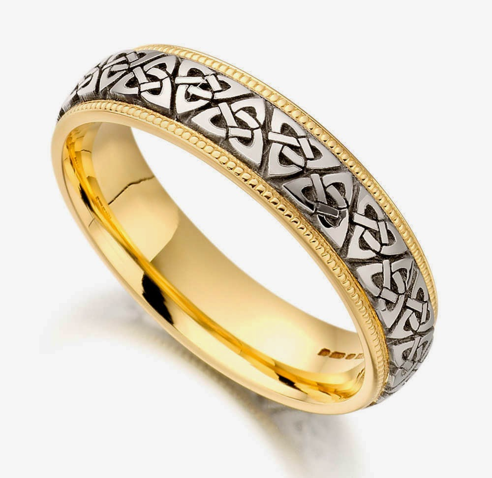 Celtic Wedding Rings Show Heritage And Commitment benegallery