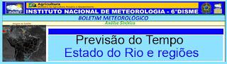 Aviso Meteorológico Especial INMET Região Serrana-válido a partir das 15h desta terça, 25/09/12