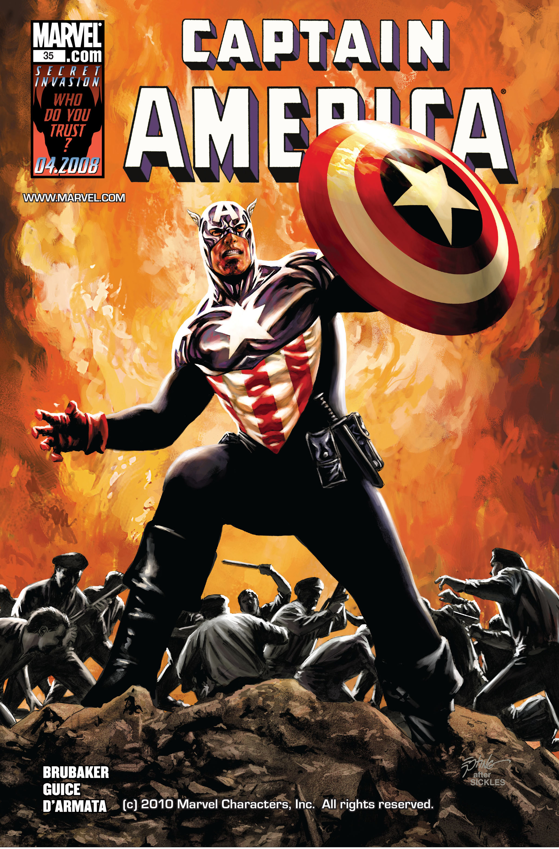 Captain America (2005) Issue #35 #35 - English 1