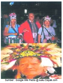 Gadis Suku Dayak
