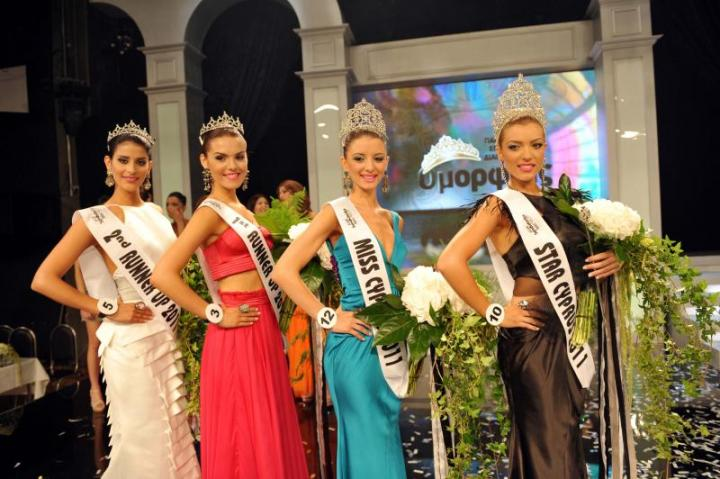 pancyprian official beauty contest Miss Cyprus Μις Κύπρος 2011 winners