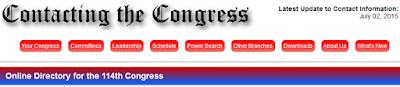 http://www.contactingthecongress.org/