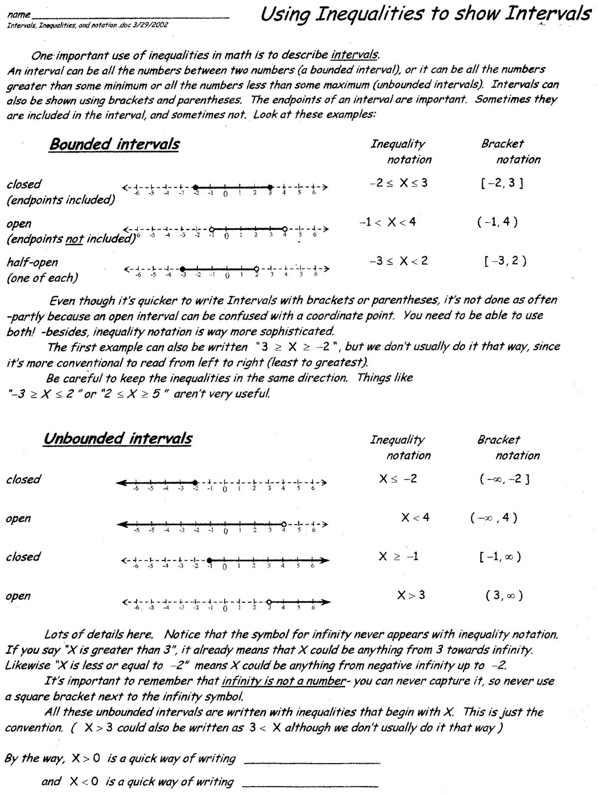 Mr Suominens Math Homepage PreCalculus Review Worksheets – Calculus Worksheets