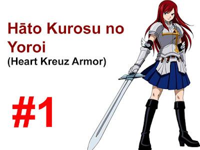 Heart Kreuz Armor, Erza Scarlet