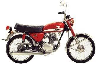 warna Ori Merah Cat Tangki Motor CB 100